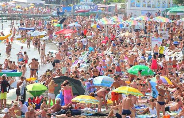 Пляж Крыма - Судак